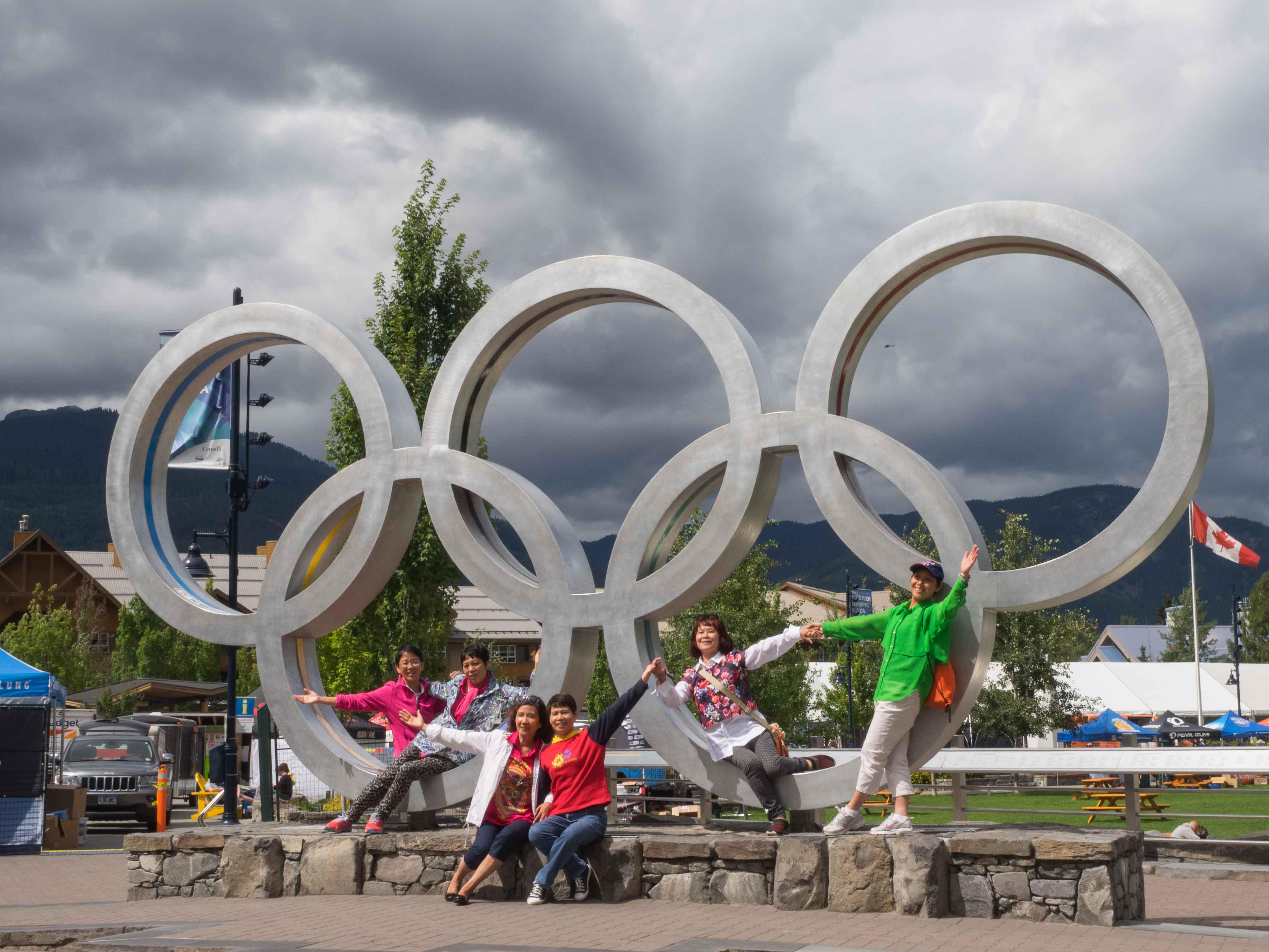 Whistler et les jeux olympiques