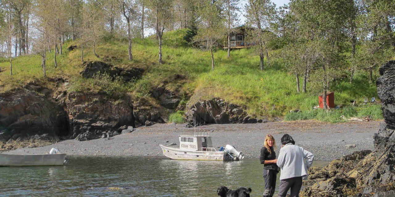 Brigid et Harry, guides à Uyak Bay