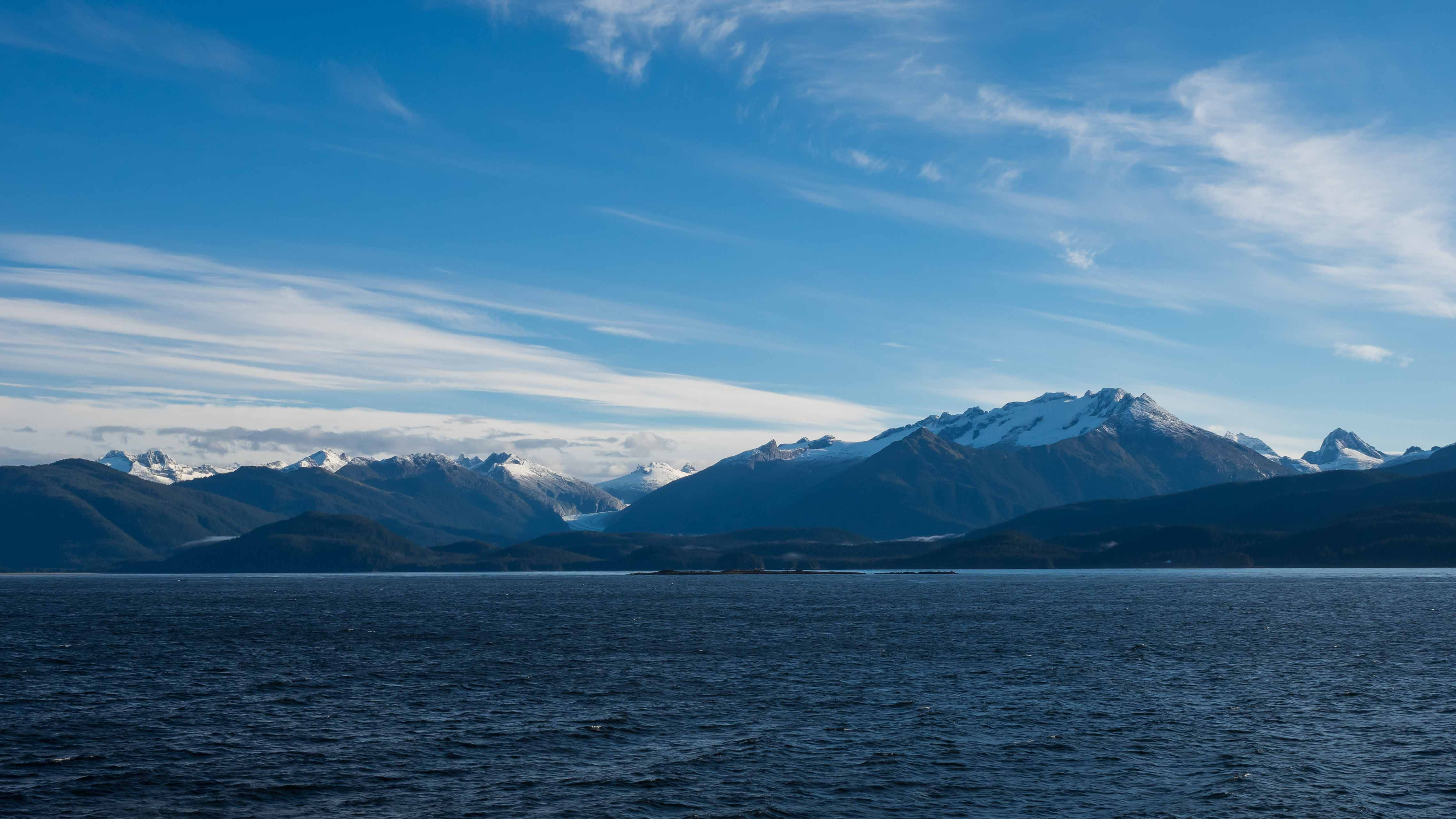 En ferry dans l'Inside Passage