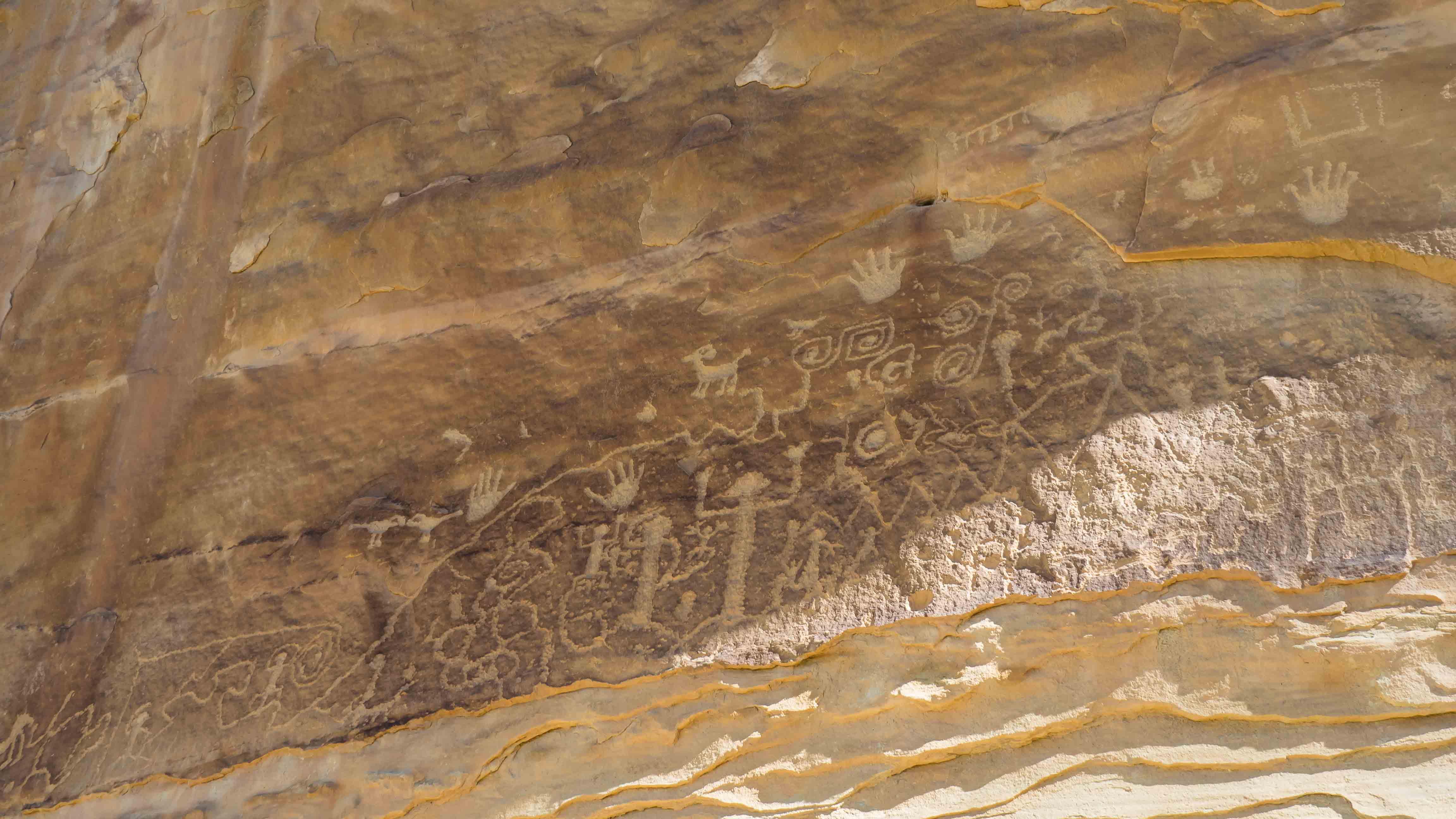 Pétroglyphes à Mesa Verde