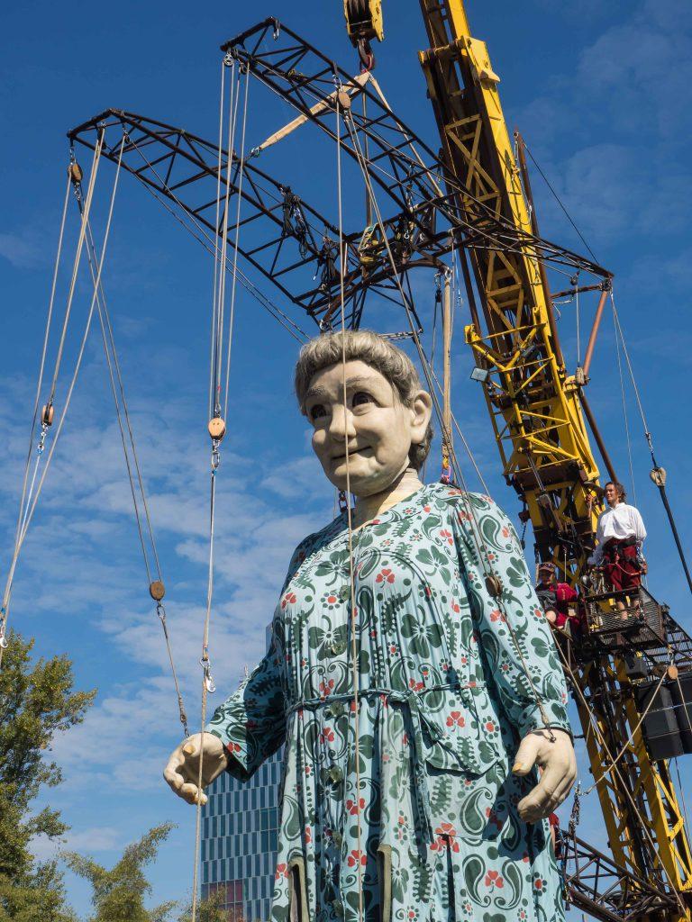 Les Géants à Carouge : La Grand-Mère