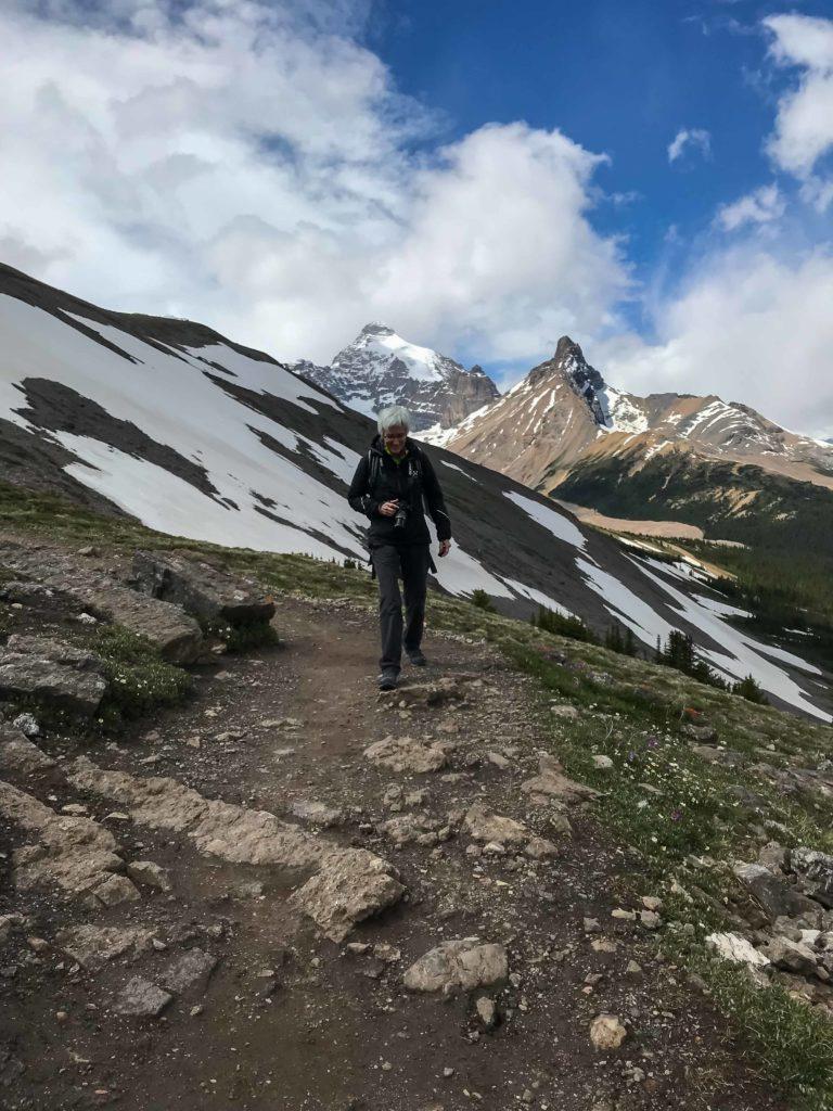 sur le sentier de Parker Ridge (Banff NP)
