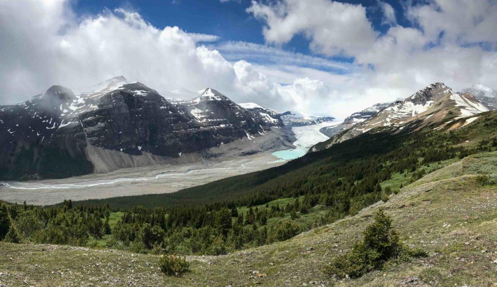 Parker Ridge et le glacier Saskatchewan (Banff NP)
