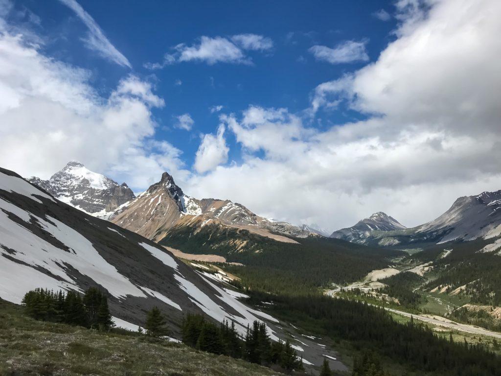 Vers Parker Ridge (Banff NP)