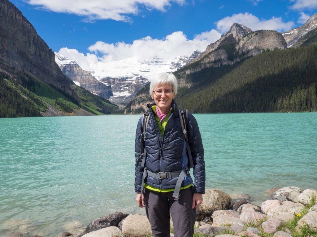 Au bord du Lake Louise (Banff NP)