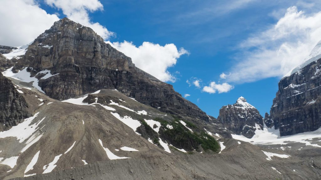 """En montant vers la """"Plain of Six Glaciers"""" (Banff NP)"""