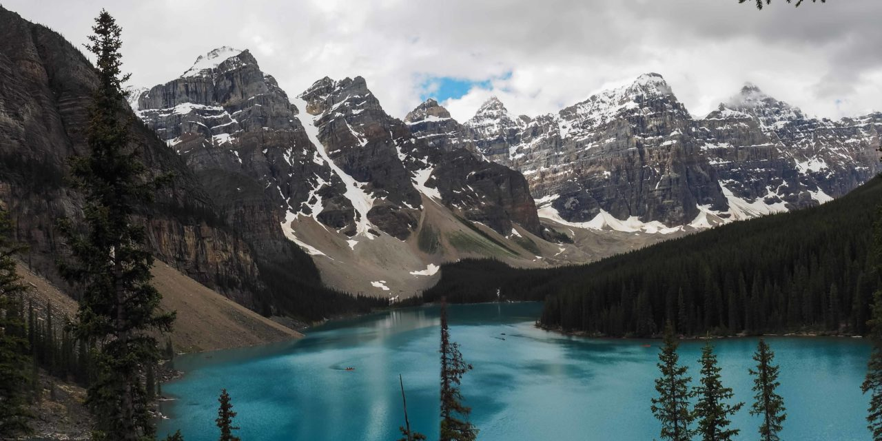 Moraine Lake et Consolation Lake
