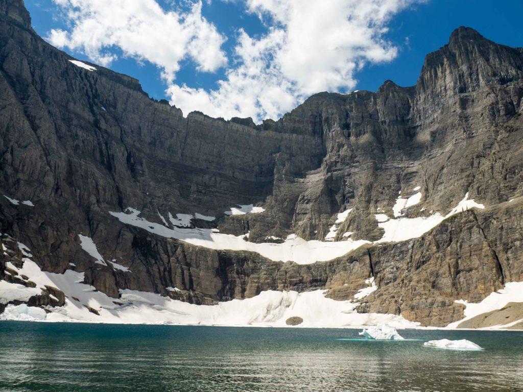 Iceberg Peak et Iceberg Lake (Glacier NP)