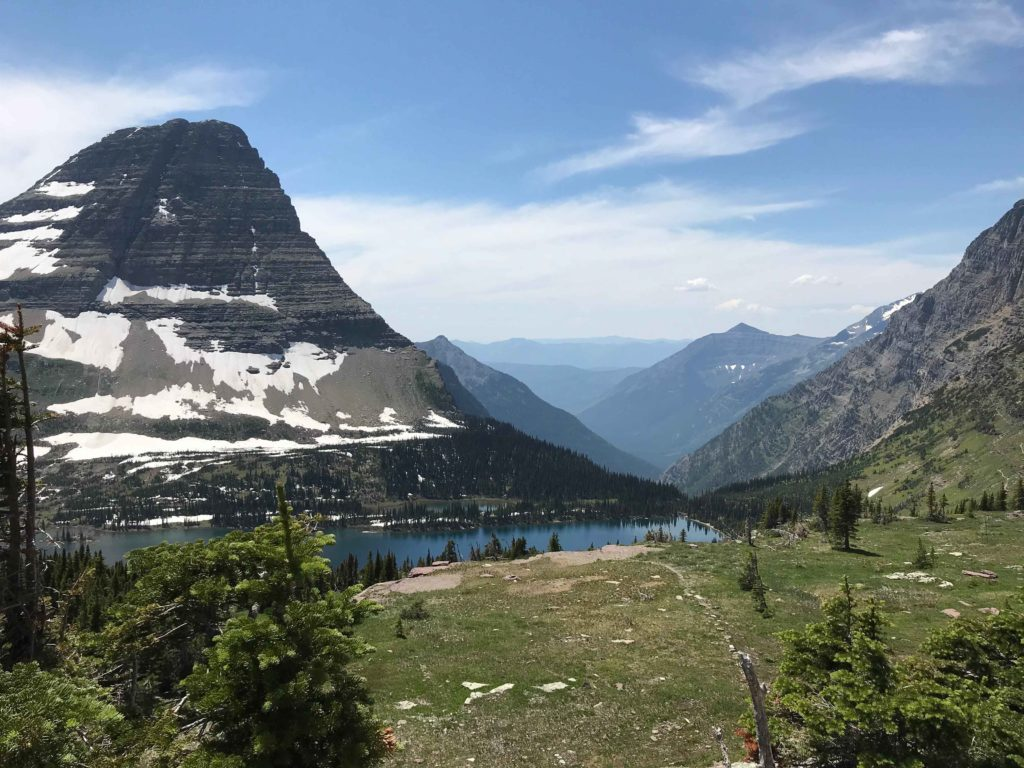 Bearhat Mountain et le Hidden Lake (Glacier NP)