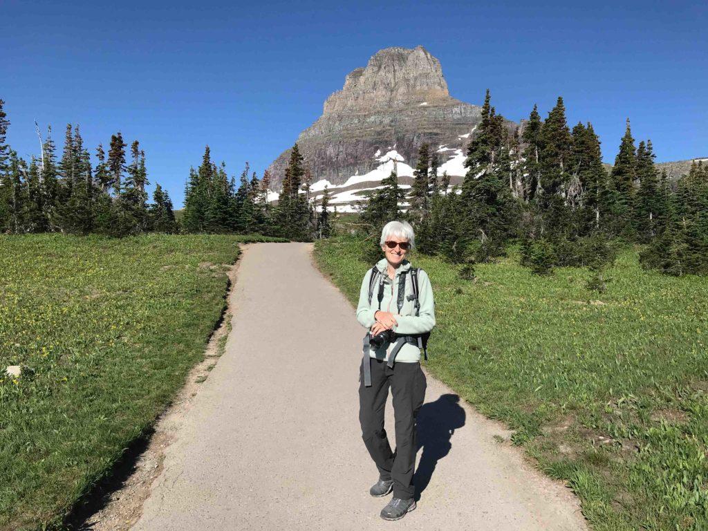 Clements Mountain près du Logan Pass (Glacier NP)