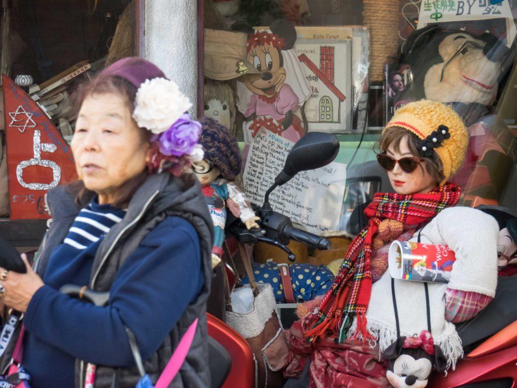 Au marché du Temple Toji (Kyoto)