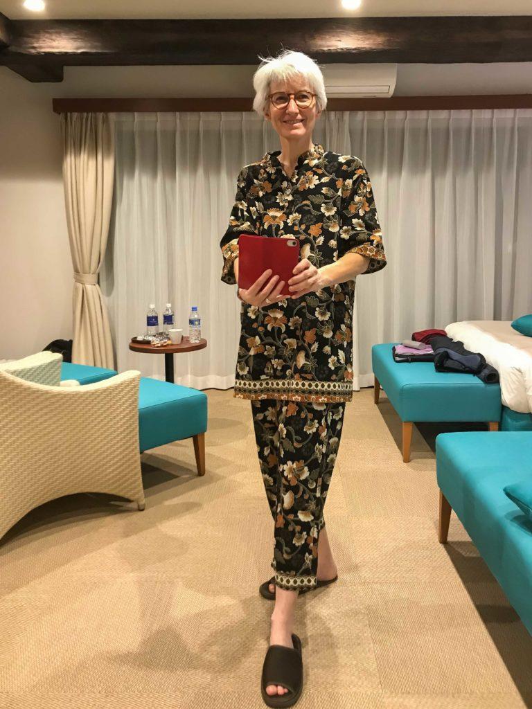 Pyjama officiel de l'hôtel Seaside (Sukuji Beach, Ishigaki)