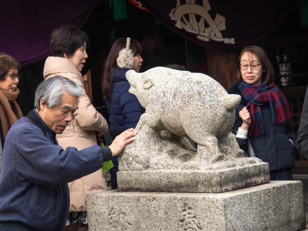 Se soigner le dos au temple Zenkyoan (Kyoto)