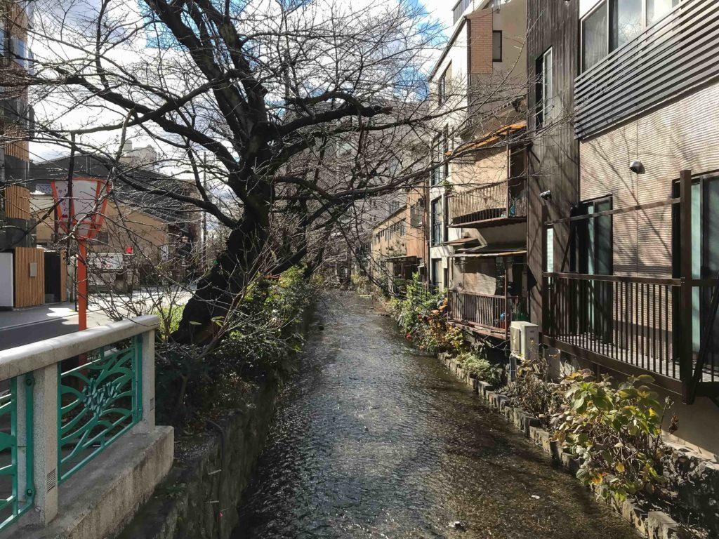 La rivière Takase (Kyoto)