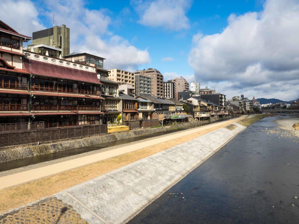 Kamo-gawa, la rivière de Kyoto