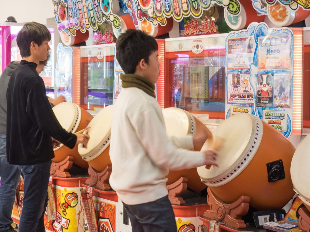 Percussionniste fou (Himeji)