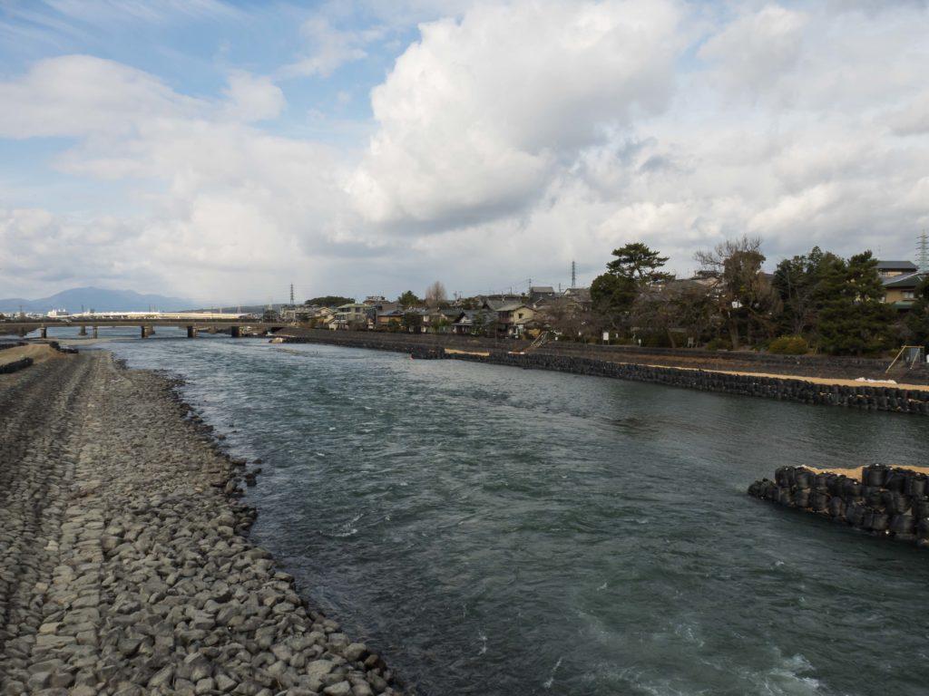 La rivière Uji à Uji