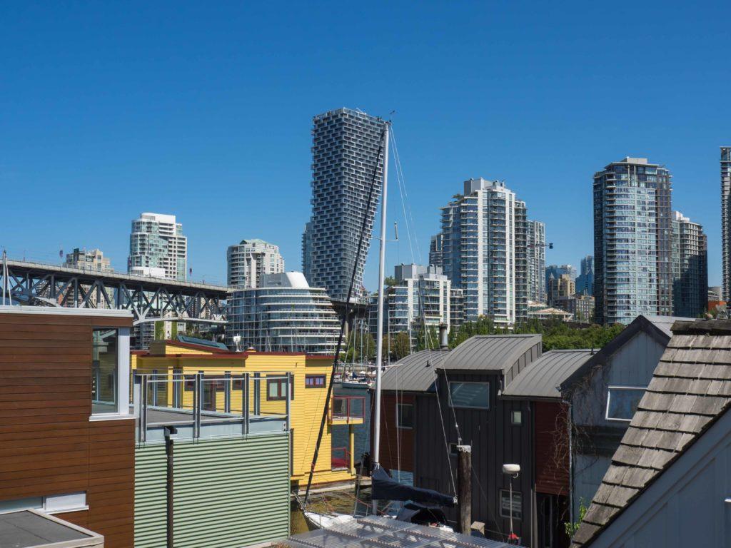 Vue de Granville Island (Vancouver)