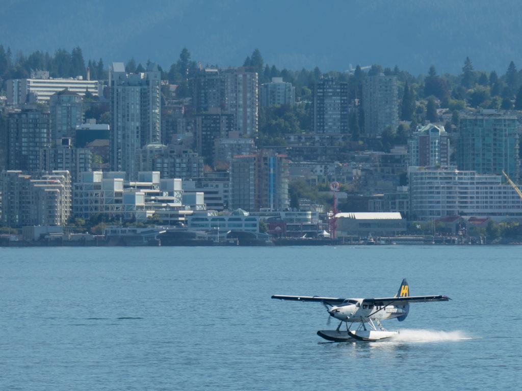 Dans la baie de Vancouver