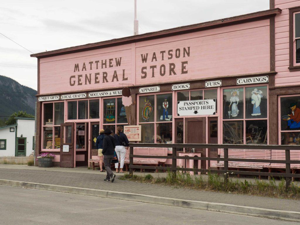 Le magasin de Carcross (Yukon)