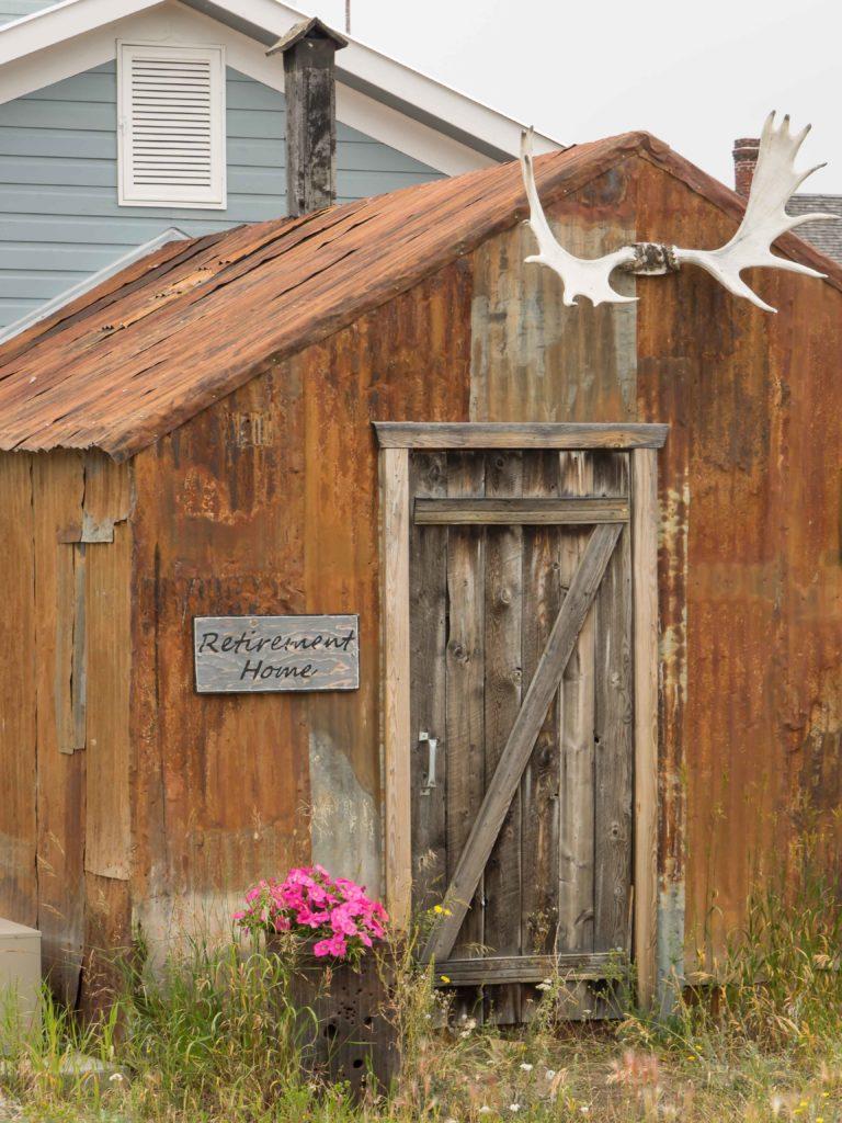 A louer ? (Carcross, Yukon)