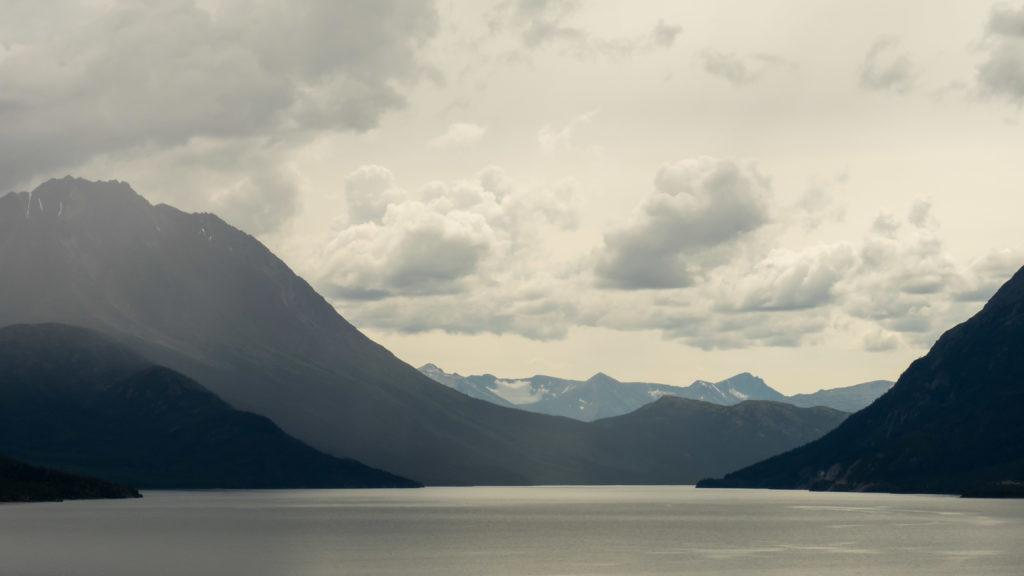 Entre Carcross et le White Pass (Yukon)