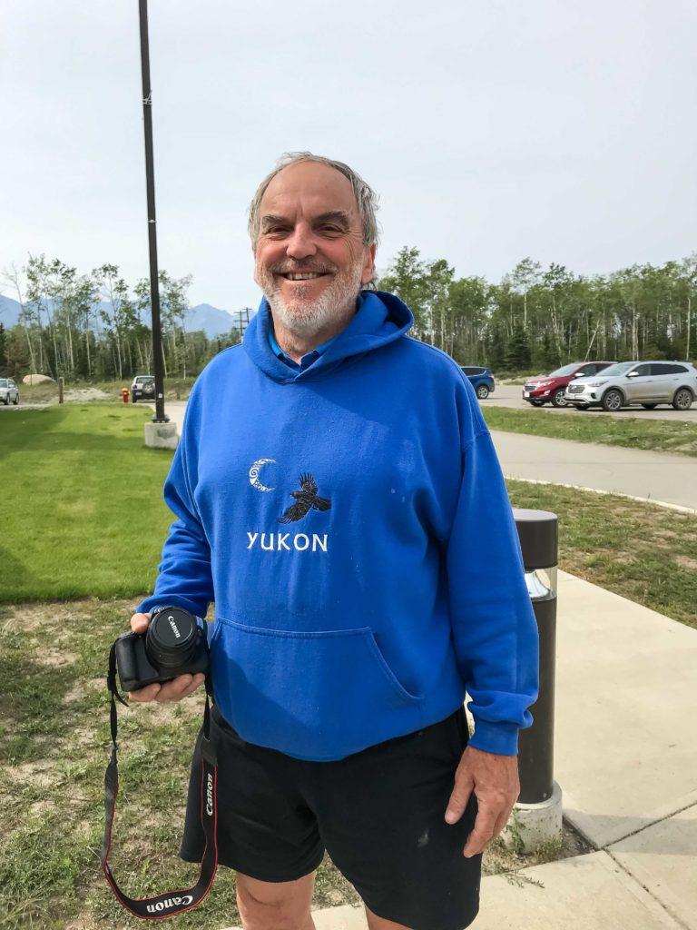 Serge, québécois amoureux du Yukon