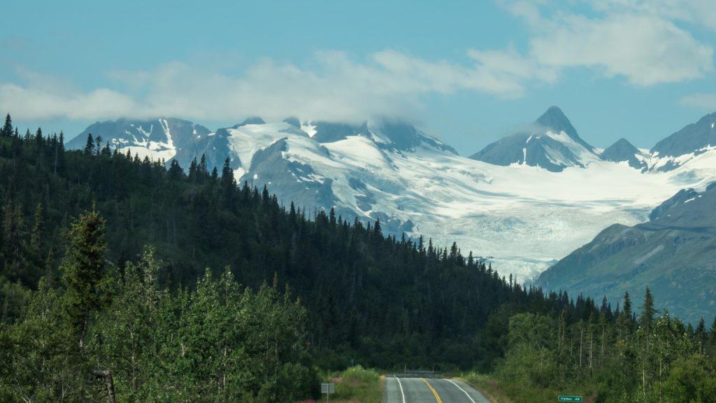 Sur la Richardson Highway (Alaska)