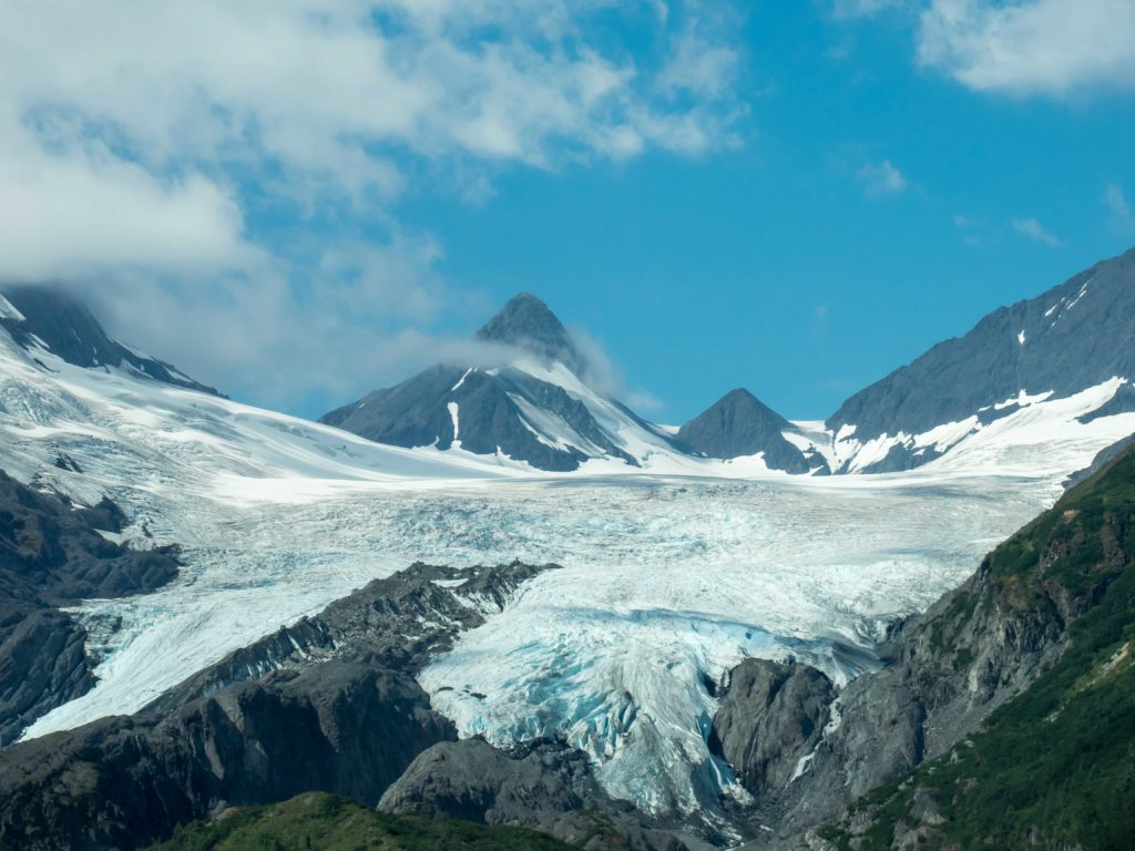 Glacier Worthington (Chugach Mountains, Alaska)