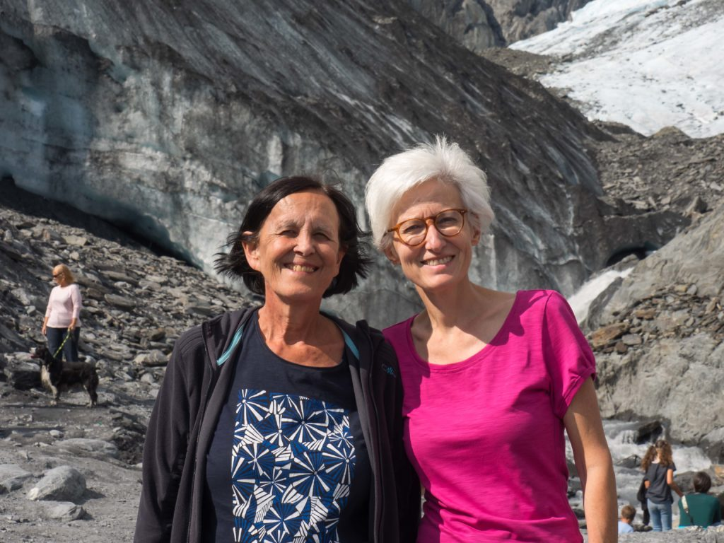 Au pied du glacier Worthington (Chugach Mountains, Alaska)