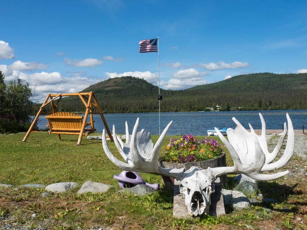 Au bord de Pippin Lake (Alaska)