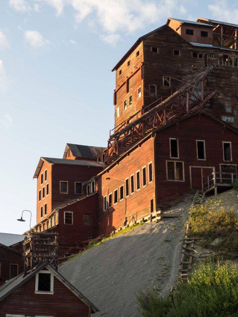 Bâtiments du site minier de Kennecott (Wrangell-St Elias NP)