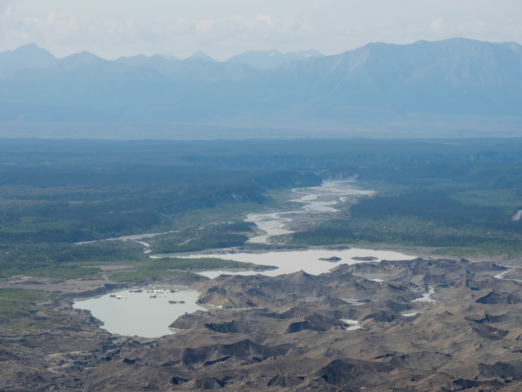 Les lacs glaciaires du Kennecott (Wrangell-St Elias NP)