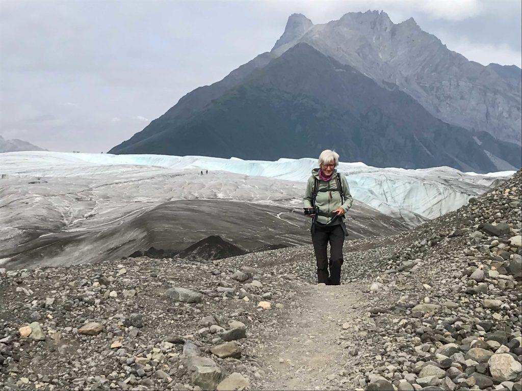 En revenant du glacier Root (Wrangell-St Elias NP)
