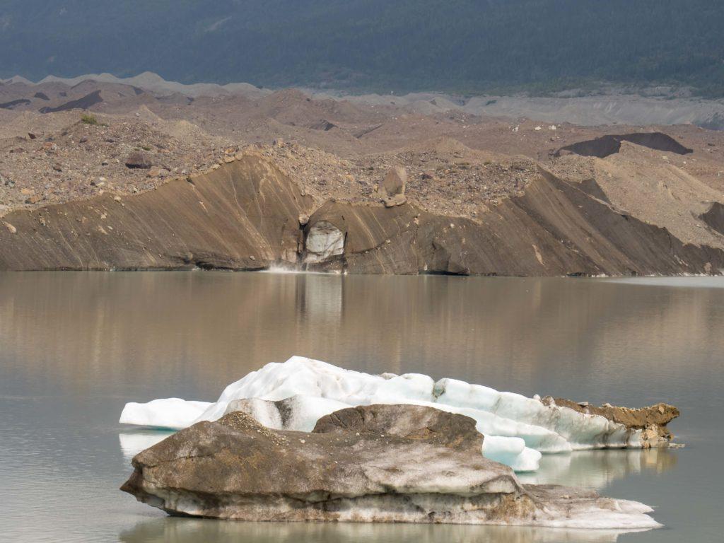 Lac glaciaire du Kennecott (Wrangell-St Elias NP)